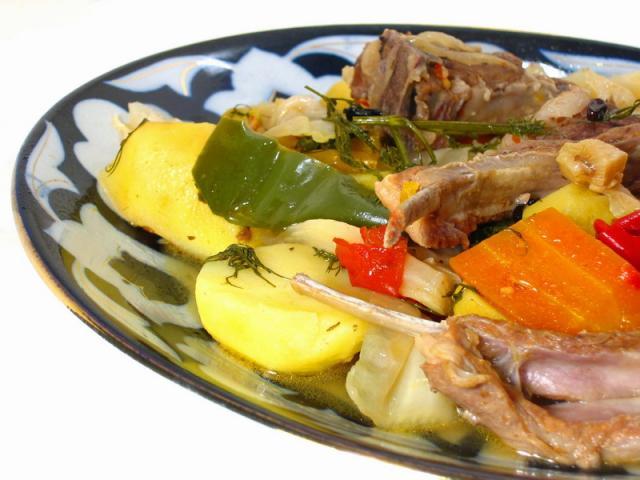 Рецепт с фото картофель сало фольга